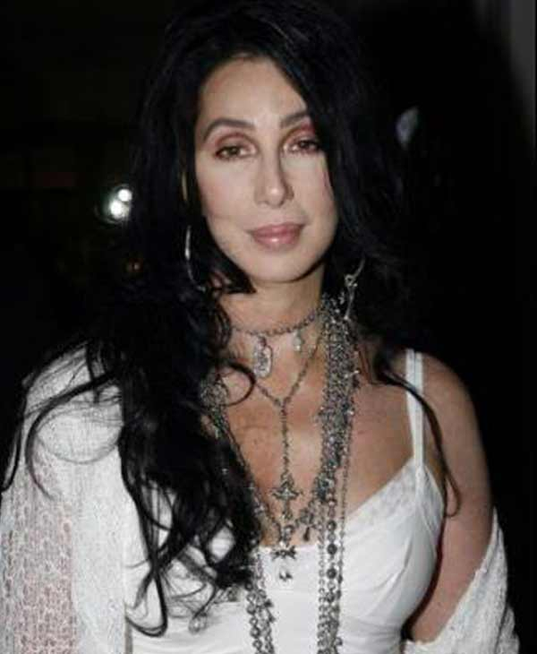 Cher poses in a photo from her official Myspace