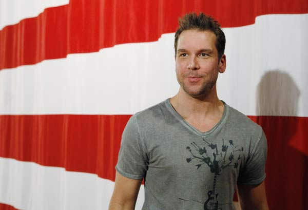 Dane Cook wrote on his Twitter page, &#39;Prayers are with the people of Japan. This is tragic.&#39; <span class=meta>(ABC)</span>
