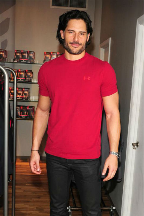 "<div class=""meta ""><span class=""caption-text "">The 'Still-Red-Hot' stare: Joe Manganiello appears at Under Armour's Pop-Up store in New York on Dec. 21, 2010. (Albert Michael / Startraksphoto.com)</span></div>"
