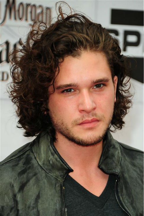 The &#39;Jon-Snow-Knows-Nothing-At-The-2012-Spike-TV-Guy&#39;s-Choice-Awards&#39; stare. &#40;Kit Harington appears at the event in Culver City, California on June 2, 2012.&#41; <span class=meta>(Michael Williams &#47; Startraksphoto.com)</span>