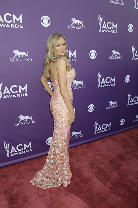 Jewel appears on the red carpet at the 48th annual Academy of Country Music &#40;ACM&#41; Awards. The ceremony was co-hosted by Luke Bryan and Blake Shelton and was broadcast live from the MGM Grand Garden Arena in Las Vegas on CBS on Sunday, April 7, 2013. <span class=meta>(Francis Specker &#47; CBS)</span>