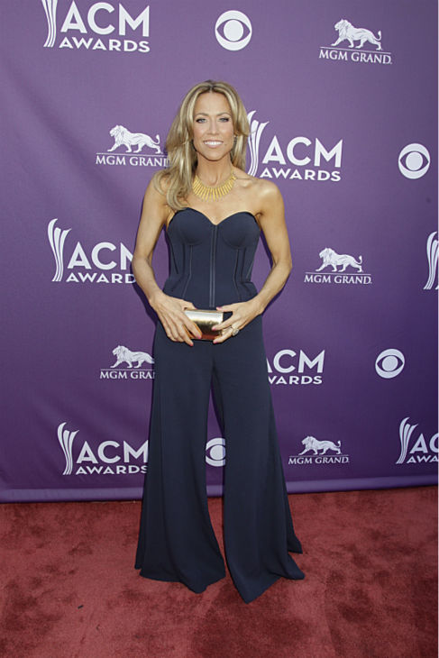 Sheryl Crow appears on the red carpet at the 48th annual Academy of Country Music &#40;ACM&#41; Awards. The ceremony was co-hosted by Luke Bryan and Blake Shelton and was broadcast live from the MGM Grand Garden Arena in Las Vegas on CBS on Sunday, April 7, 2013. <span class=meta>(Francis Specker &#47; CBS)</span>