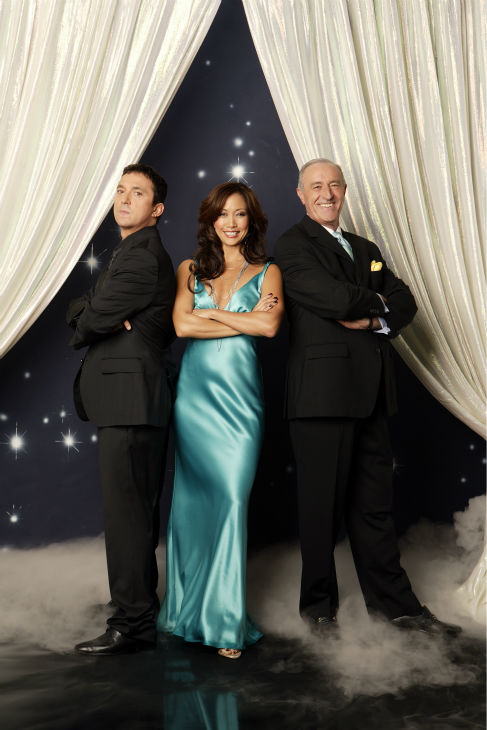 &#39;Dancing with the Stars&#39; judges Bruno Tonioli, Carrie Ann Inaba and Len Goodman appear in a promotional photo ahead of the season 17 premiere on Sept. 16, 2013. <span class=meta>(ABC Photo &#47; Bob D&#39;Amico)</span>