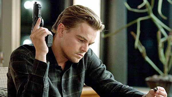 Leonardo DiCaprio in a production still from...