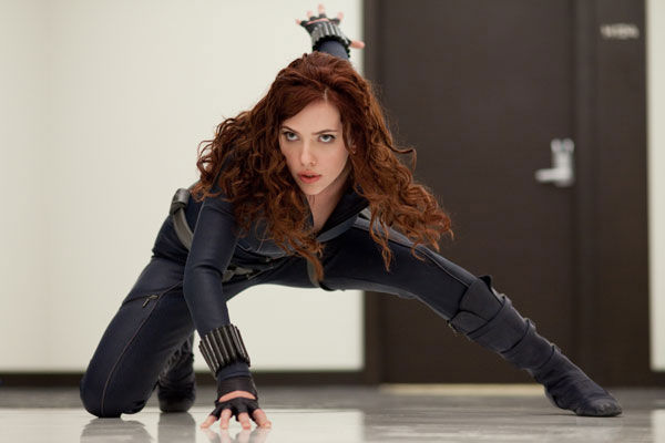 Actress Scarlett Johansson played Natasha Romanoff &#47; Black Widow in the 2010 film &#39;Iron Man 2.&#39; The actress is set to reprise the role in the upcoming film &#39;The Avengers,&#39; set to hit theaters in May 2012. <span class=meta>(Marvel Studios)</span>