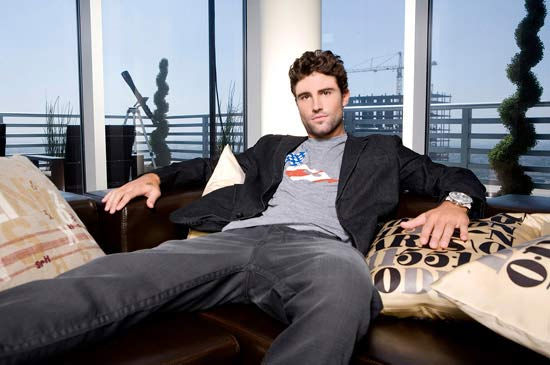 Brody Jenner in a promotional photo for the 2009 series 'Bromance'