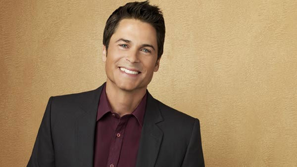 Rob Lowe in a production still for 'Brothers and...