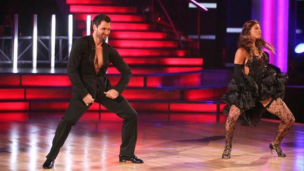 U.S. soccer star Hope Solo and her partner Maksim Chmerkovskiy received 24 out of 30  from the judges for their Cha Cha Cha on the October 3 episode of &#39;Dancing With The  Stars.&#39; <span class=meta>(ABC Photo)</span>