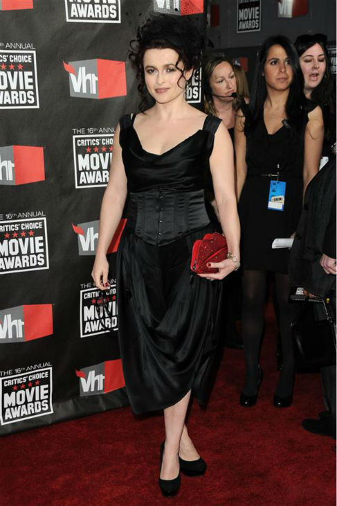 Helena Bonham Carter appears at the 2011 Critics&#39; Choice Movie Awards in Los Angeles on Jan. 14, 2011. <span class=meta>(Kyle Rover &#47; Startraksphoto.com)</span>