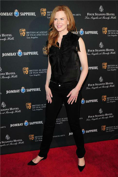 Nicole Kidman appears at the BAFTA Los Angeles 17th Annual Awards Season Tea Party on Jan. 15, 2011.  <span class=meta>(Kyle Rover&#47;startraksphoto.com)</span>