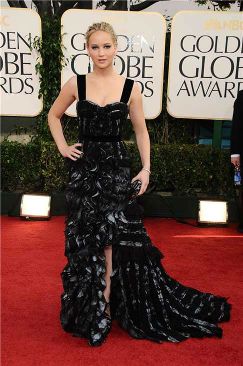 Jennifer Lawrence appears at the 68th Annual Golden Globe Awards on Jan. 16, 2011. <span class=meta>(KYLE ROVER&#47;startraksphoto.com)</span>
