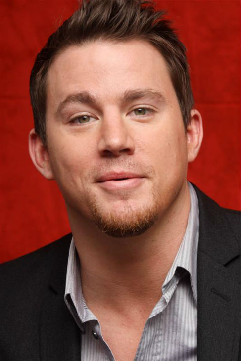 The &#39;Yup-It&#39;s-A-Sexy-Stare&#39; stare: Channing Tatum appears at a press conference for &#39;Eagle&#39; in Beverly Hills, California on Feb. 4, 2011. <span class=meta>(Munawar Hosain &#47; Startraksphoto.com)</span>