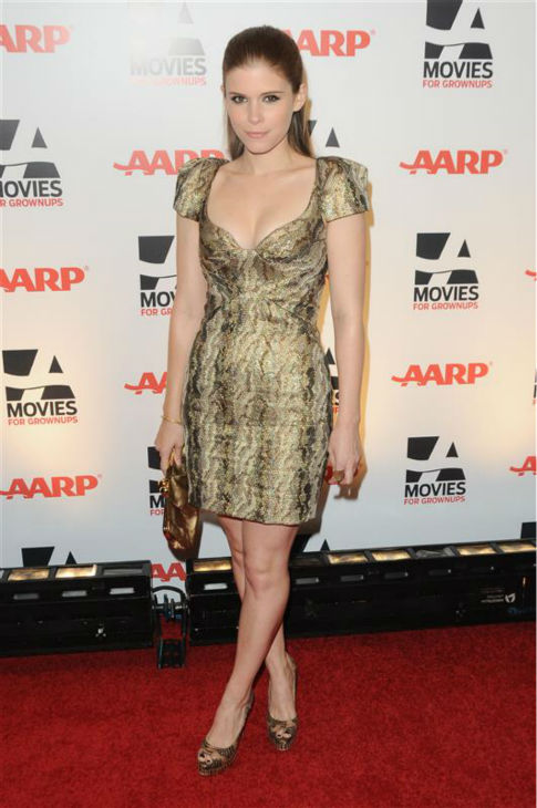 Kate Mara appears in a Zac Posen dress at AARP the Magazine&#39;s 10th annual Movies For Grownups Awards in Beverly Hills, California on Feb. 7, 2011. <span class=meta>(Sara De Boer &#47; Startraksphoto.com)</span>
