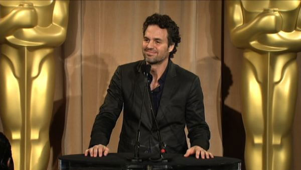 Mark Ruffalo at the Oscar Luncheon on February...