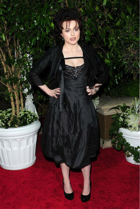 Helena Bonham Carter appears at the 2011 QVC Red Carpet Style Party in Beverly Hills, California on Feb. 25, 2011. <span class=meta>(Kyle Rover &#47; Startraksphoto.com)</span>