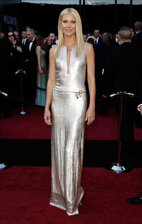 Actress Gwyneth Paltrow arrives before the 83rd Academy Awards on Sunday, Feb. 27, 2011, in the Hollywood section of Los Angeles.