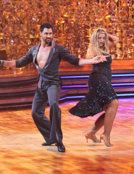 "<div class=""meta image-caption""><div class=""origin-logo origin-image ""><span></span></div><span class=""caption-text"">Kirstie Alley and her partner Maksim Chmerkovskiy received 23 out of 30 from the judges for their Cha cha on the season premiere of 'Dancing With The Stars.' (ABC Photo/ Adam Larkey)</span></div>"