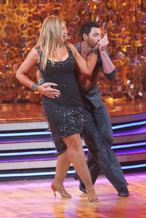 Kirstie Alley and her partner Maksim Chmerkovskiy received 23 out of 30 from the judges for their Cha cha on the season premiere of &#39;Dancing With The Stars.&#39; <span class=meta>(ABC Photo&#47; Adam Larkey)</span>