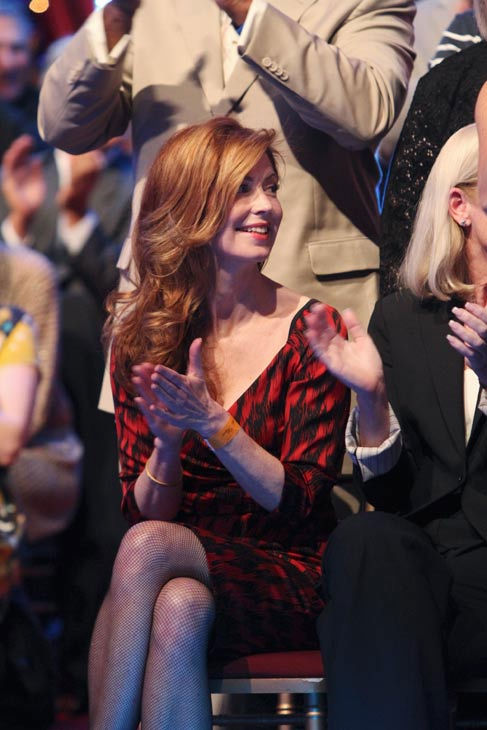 "<div class=""meta ""><span class=""caption-text "">Dana Delany appears at the two-hour season premiere of 'Dancing with the Stars,' on March 21, 2011.   (ABC Photo/ Adam Larkey)</span></div>"