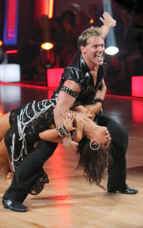 Chris Jericho and his partner Cheryl Burke received 19 out of 30 from the judges for their Cha cha on the season premiere of 'Dancing With The Stars.'