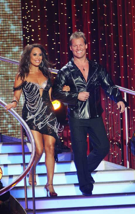 Chris Jericho and his partner Cheryl Burke received 19 out of 30 from the judges fo