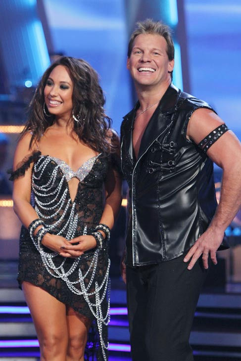 Chris Jericho and his partner Cheryl Burke received 19 out of 30 from the judges for their Cha cha on the season premiere of &#39;Dancing With The Stars.&#39; <span class=meta>(ABC Photo&#47; Adam Larkey)</span>