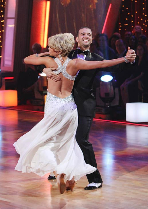 Chelsea Kane and her partner Mark Ballas received 21 out of 30 from the judges for their Foxtrot on the season premiere of &#39;Dancing With The Stars.&#39; <span class=meta>(ABC Photo&#47; Adam Larkey)</span>
