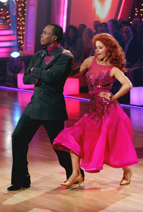 "<div class=""meta ""><span class=""caption-text "">Sugar Ray Leonard and his partner Anna Trebunskaya received 17 out of 30 from the judges for their Foxtrot on the season premiere of 'Dancing With The Stars.' (ABC Photo/ Adam Larkey)</span></div>"