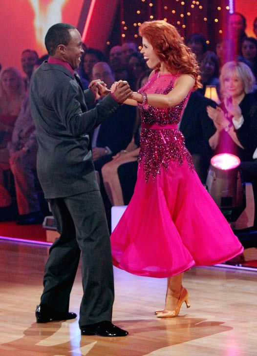 Sugar Ray Leonard and his partner Anna Trebunskaya received 17 out of 30 from the judges for their Foxtrot on the season premiere of &#39;Dancing With The Stars.&#39; <span class=meta>(ABC Photo&#47; Adam Larkey)</span>