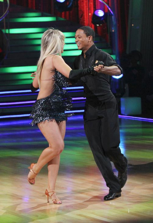 Romeo and his partner Chelsie Hightower received 19 out of 30 from the judges for their Cha cha on the season premiere of &#39;Dancing With The Stars.&#39; <span class=meta>(ABC Photo&#47; Adam Larkey)</span>