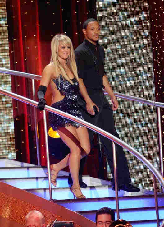 Romeo and his partner Chelsie Hightower received 19 out of 30 from the judges for their Cha cha on the seas
