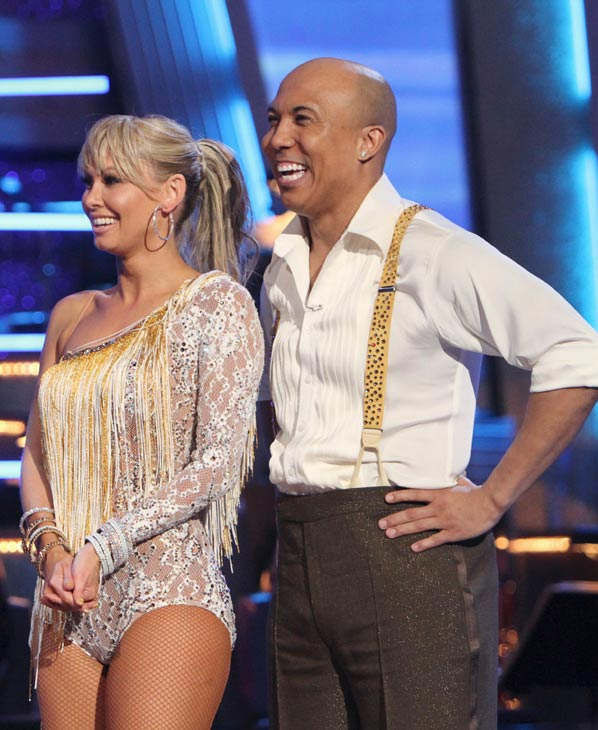 Hines Ward and his partner Kym Johnson received 21 out of 30 from the judges for their Cha cha on the season premiere of &#39;Dancing With The Stars.&#39; <span class=meta>(ABC Photo&#47; Adam Larkey)</span>
