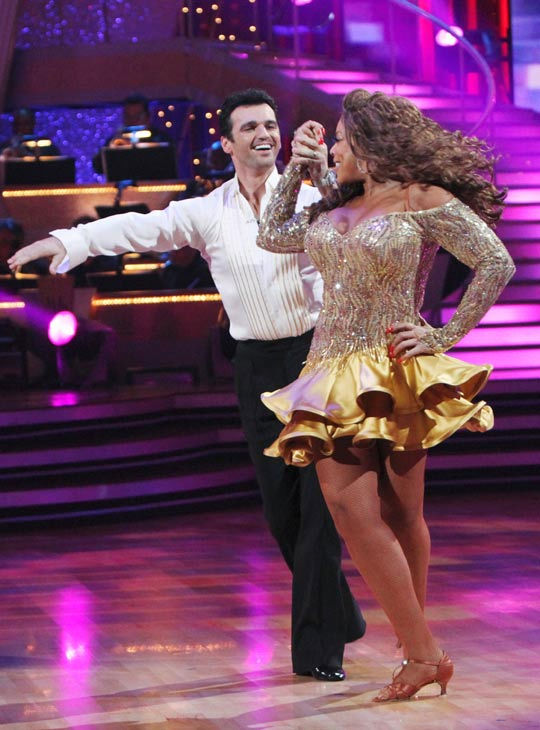 Wendy Williams and her partner Tony Dovolani  received 14 out of 30 from the judges for their Cha cha on the season premiere of &#39;Dancing With The Stars.&#39; <span class=meta>(ABC Photo&#47; Adam Larkey)</span>