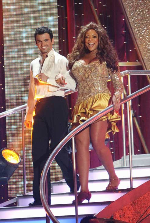 Wendy Williams and her partner Tony Dovolani  received 14 out of 30 from the judges for their Cha cha on the season