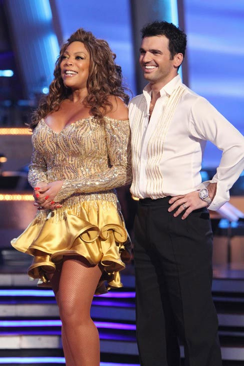 "<div class=""meta ""><span class=""caption-text "">Wendy Williams and her partner Tony Dovolani  received 14 out of 30 from the judges for their Cha cha on the season premiere of 'Dancing With The Stars.' (ABC Photo/ Adam Larkey)</span></div>"