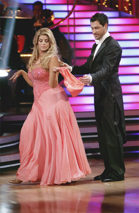 Kirstie Alley and her partner Maksim Chmerkovskiy recieved 20 out of 30 from the judges for their Quickstep on week 2 of 'Dan