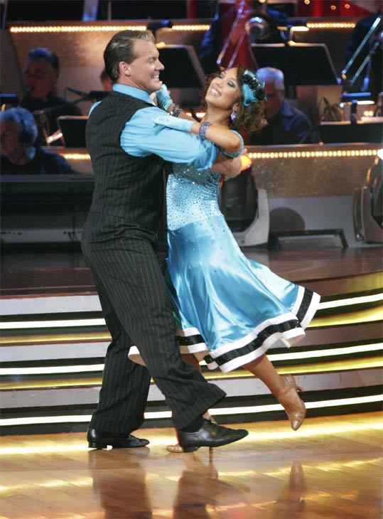 Chris Jericho and his partner Cheryl Burke received 23 out of 30 from the judges for their Quickstep on week 2 of 'Dancing With The Stars' on Monday, March 28, 2011. Combined with the first week sc