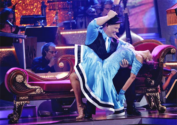 Chris Jericho and his partner Cheryl Burke received 23 out of 30 from the judges for their Quickstep on week 2 of 'Dancing With The Stars' on Monday, March 28, 2011. Combined with the first week scores of 19 out of 30 their to
