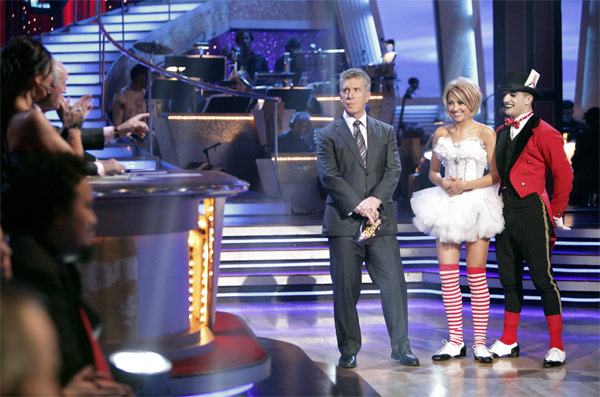 Chelsea Kane and her partner Mark Ballas received 18 out of 30 from the judges for their Jive on week 2 of &#39;Dancing With The Stars&#39; on Monday, March 28, 2011. Combined with the first week scores of 21 out of 30, their total is 39 out of 60.  <span class=meta>(ABC Photo&#47;Adam Taylor)</span>