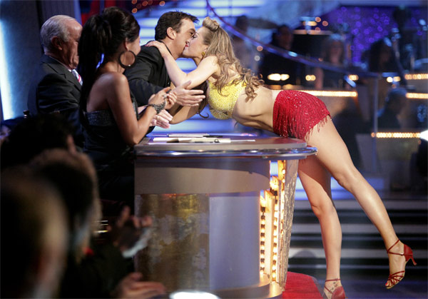 "<div class=""meta image-caption""><div class=""origin-logo origin-image ""><span></span></div><span class=""caption-text"">Petra Nemcova and her partner Dmitry Chaplin received 18 out of 30 from the judges for their Jive on week 2 of 'Dancing With The Stars' on Monday, March 28, 2011. Combined with the first week scores of 18 out of 30, their total is 36 out of 60.  (ABC Photo/Adam Taylor)</span></div>"