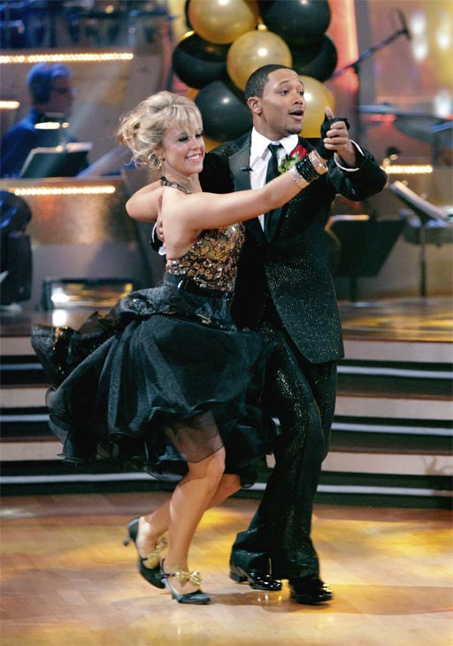 Romeo and his partner Chelsie Hightower received 23 out of 30 from the judges for their Quickstep on week 2 of &#39;Dancing With The Stars&#39; on Monday, March 28, 2011. Combined with the first week scores of 19 out of 30, their total is 42 out of 60. <span class=meta>(ABC Photo&#47;Adam Taylor)</span>