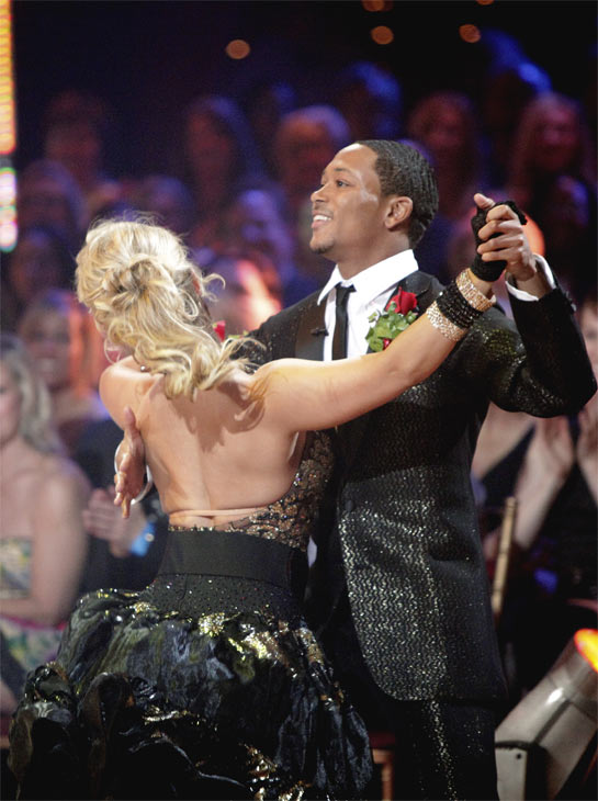 Romeo and his partner Chelsie Hightower received 23 out of 30 from the judges for their Quickstep on week 2 of 'Dancin