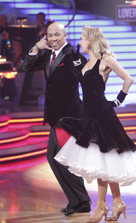 Hines Ward and his partner Kym Johnson received 23 out of 30 from the judges for their Quickstep on week 2 of 'Dancing With The Stars' on Monday, March 28, 201