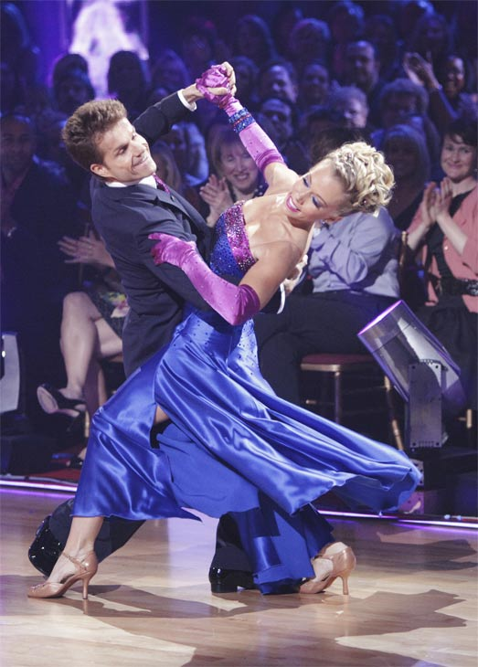 Kendra Wilkinson and her partner Louis van Amstel received 19 out of 30 from the judges for their Quickstep on week 2 of &#39;Dancing With The Stars&#39; on Monday, March 28, 2011. Combined with the first week scores of 18 out of 30, their total is 37 out of 60. <span class=meta>(ABC Photo&#47;Adam Taylor)</span>