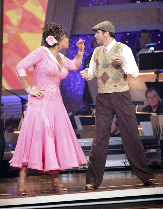 Wendy Williams and  her partner Tony Dovolani received 17 out of 30 from the judges for their Quickstep on week 2 of 'Dancing Wi