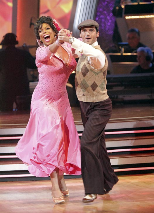 Wendy Williams and  her partner Tony Dovolani received 17 out of 30 from the judges for their Quickstep on week 2 of 'Dancing With The Stars' on Monday, March 28, 2011. Combined with the first week scores of 14 out of 30, their total