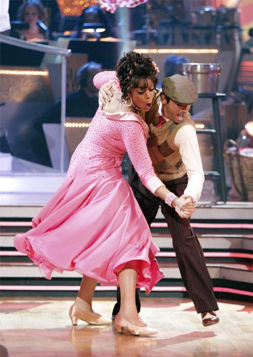 Wendy Williams and  her partner Tony Dovolani received 17 out of 30 from the judges for their Quickstep on week 2 of &#39;Dancing With The Stars&#39; on Monday, March 28, 2011. Combined with the first week scores of 14 out of 30, their total is 31 out of 60.  <span class=meta>(ABC Photo&#47;Adam Taylor)</span>