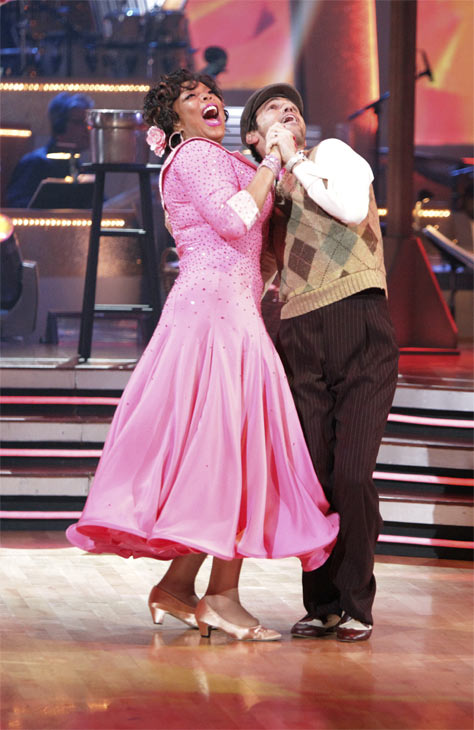 Wendy Williams and  her partner Tony Dovolani received 17 out of 30 from the judges for their Quickstep on week 2 of 'Dancing With The Stars' on Monday, March 28, 2011. Combined with the first week scores of