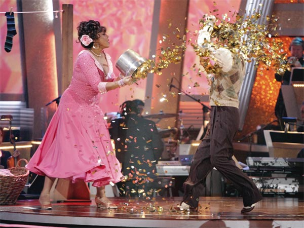 Wendy Williams and  her partner Tony Dovolani received 17 out of 30 from the judges for their Quickstep on week 2 of 'Dancing With The Stars' on Monday, March 28, 2011. Combined with the first week scores o