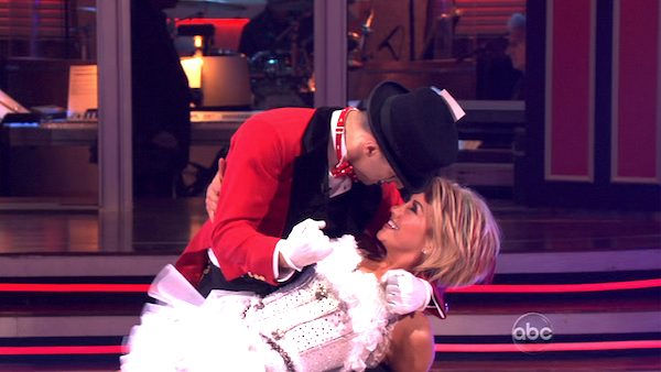 Chelsea Kane and her partner Mark Ballas received 18 out of 30 from the judges for their Jive on week 2 of &#39;Dancing With The Stars&#39; on Monday, March 28, 2011. Combined with the first week scores of 21 out of 30, their total is 39 out of 60.  <span class=meta>(OTRC Photo)</span>